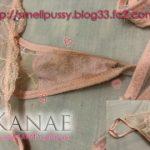 ピンクの前面透けシミパン画像!人妻からのお届けシミパン披露目Part3